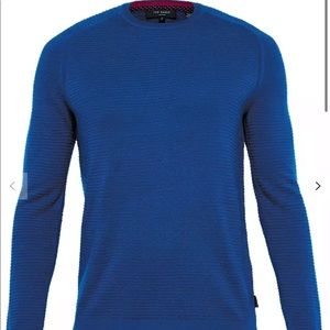 """Ted Baker """"potter"""" textured crew neck"""